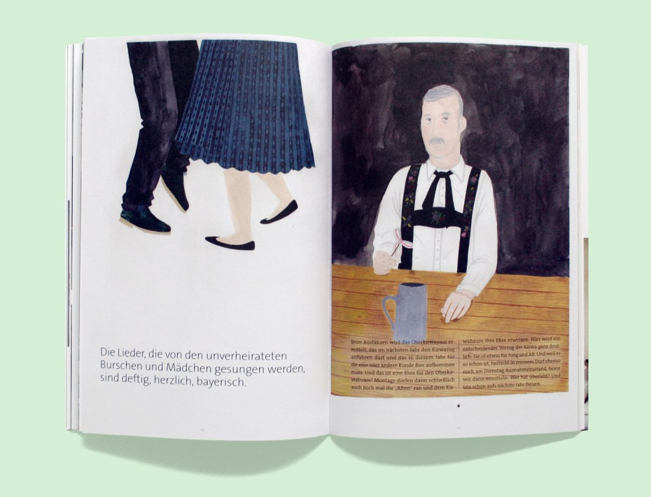 """Rosegarden Magazin """"Was ist Zuhause?"""" mit Illustration von Jana Kreisl"""