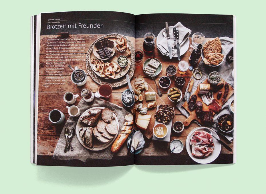 "Rosegarden Magazin ""Was ist Zeit?"" Foto: Claudia Gödke"