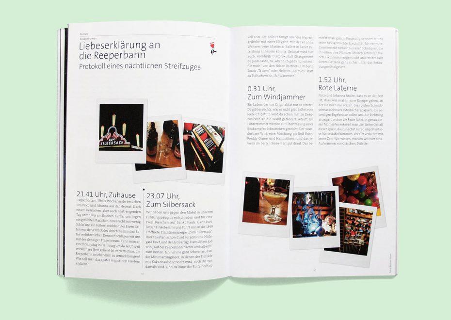 """Rosegarden Magazin """"Was ist Zeit?"""" Fotos: Bertram Sturm"""