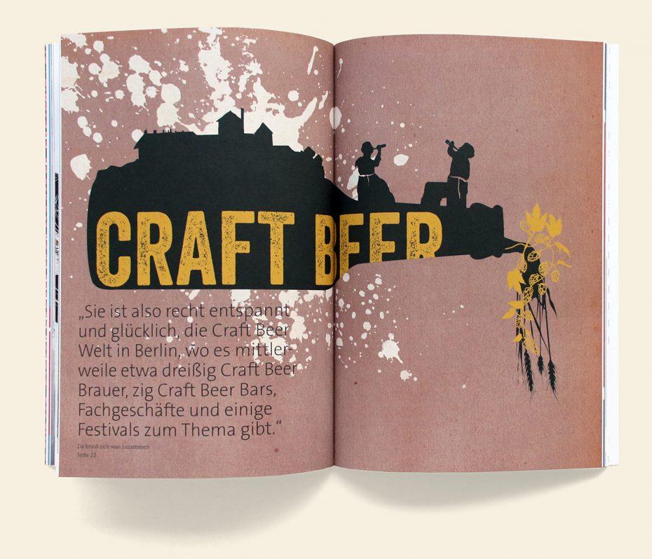 "Rosegarden Magazin ""Handwerk & Craft"" Illustration: Clare Celeste Börsch"